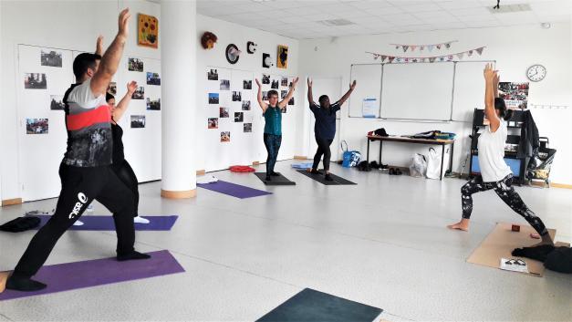 Des cours de yoga à Rezé Château !