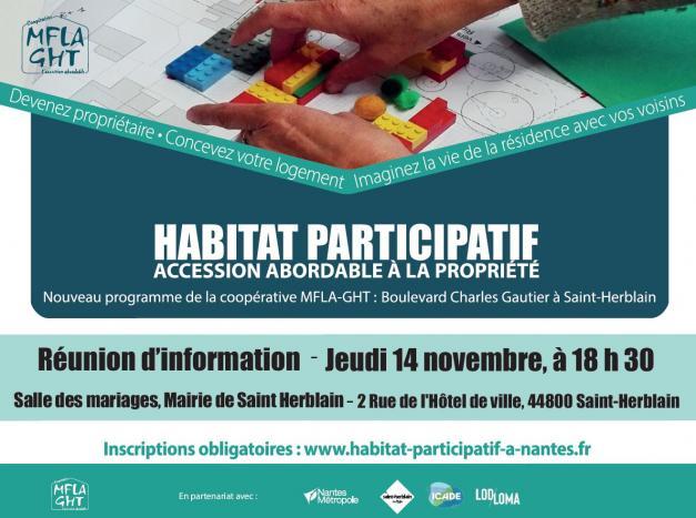 Habitat participatif - Accession abordable à la propritété