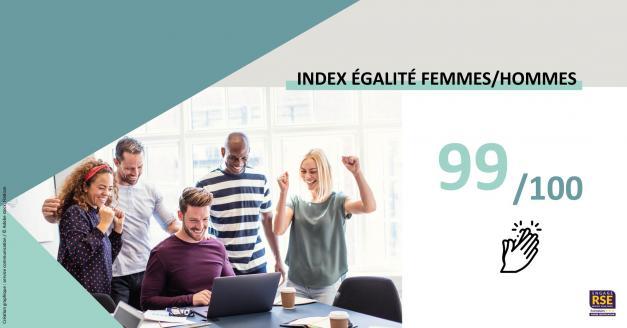 Index de l'égalité professionnelle femme-homme